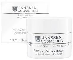 Janssen Питательный <b>крем для кожи вокруг</b> глаз Rich Eye ...