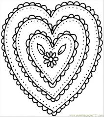 Small Picture Shaped Ornament Coloring Page printable coloring page for kids and