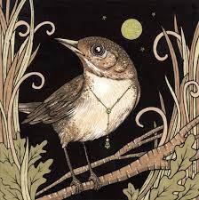 Weekly Tarot Guidance for the week of June 26 through July 2, 2017 « Tarot  by Cecelia   Bird art, Bird drawings, Nightingale bird