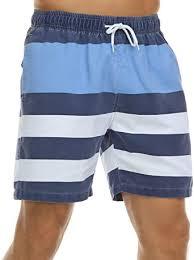 Nonwe <b>Men's Swim Trunks</b> Retro Quick Dry Soft Washed <b>Full</b> Liner ...
