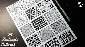 Zentangle Patterns Magnificent Decorating Ideas
