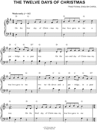 7 Christmas Favorites Arranged for Easy Piano by Various Composers ...