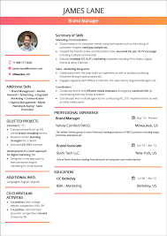 Resume Format 2019 Guide With Examples