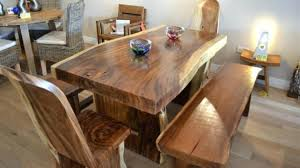 solid oak dining room sets attractive chunky wooden tables onecorporation regarding 19