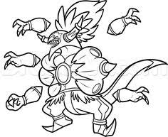 Small Picture Bruxish Pokemon Sun and Moon Coloring Page Free Pokmon Sun and