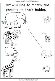 animal habitats worksheets – tomtelife.com