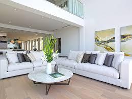 modern mansion living room. Beige Black And White Living Room Interior Design 8320-Grand-View-Drive- Modern Mansion
