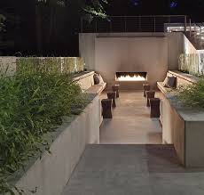 Stairway lighting Modern Pouredinplaceconcretewallsstairsseatingnew Belsitclub Hardscaping 101 Stairway Lighting Gardenista