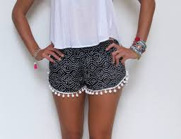 Womens Patterned Shorts Awesome Flowy Patterned Shorts Men's Shorts Women's Shorts Latest