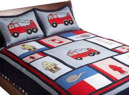 Fire Truck Toddler Bedding Set — All Home Ideas And Decor Little