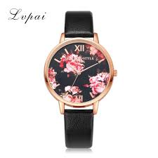 women s casual leather strap rose gold watch rose gold