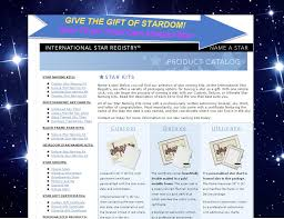 give her or him the gift of star power with their very own named star star registry from only 54