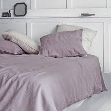 Bedroom: Original Dusty Rose Washed Linen Duvet Cover In Thistle ... & Best Linen Duvet Cover For Comfortable Bed Ideas: Original Dusty Rose Washed  Linen Duvet Cover Adamdwight.com