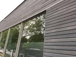 Holzfassade Fichte Mit Grauer Oberfläche Holzfassade Wood