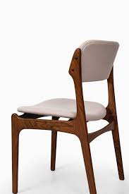 rare set of 6 dining chairs model od 49 designed by erik buck produced by
