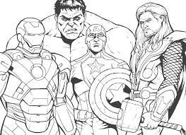 Pick up your colored pencils and start coloring right now! Coloring Pages Iron Man Print Superhero Marvel For Free