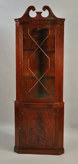 antique tall corner cabinet with glass doors great corner cabinets with doors designs ideas
