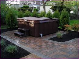 patio designs with fire pit and hot tub. Beautiful Patio Hot Tub Ideas Home Design Designs With Fire Pit And R