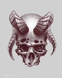 Creepy Skull Sketch татухи в 2019 г череп эскиз тату и идеи