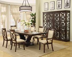 full size of dining room round pedestal dining room sets finley home milano 6 piece
