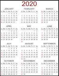 Just press the print button then you got a calendar. Printable 2020 Yearly Calendar Best Printable Calendar