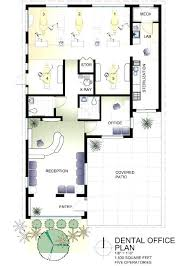 home office plans layouts. 3d Floor Plan Of Home Office Design And Furniture Layout Plans Layouts