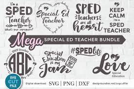 Svg is an image format used for vectors graphics. Sped Teacher Svg Sped Svg Bundle A Special Education Svg 428254 Cut Files Design Bundles