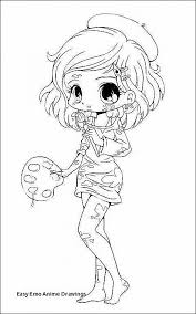 Anime Chibi Coloring Pages For Girls Free Anime Chibi Coloring Pages