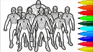 We have collected 39+ spiderman coloring page online images of various designs for you to color. Spiderman Brotherhood Coloring Pages Spiderman Brotherhood Coloring Pages With Colored Markers Youtube