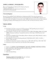 Juniper Network Engineer Resume. Network Engineer Resume Best ...