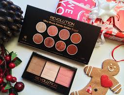makeup revolution ultra blush and contour palette in golden sugar ultra sculpt and contour
