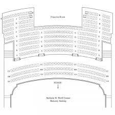 Seating Chart Stefanie H Weill Center