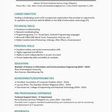 Technology Sales Resume Resume Examples For Information Technology New Best Resume Examples