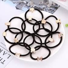 Shop 10PCS New <b>Korean Hair Accessories For</b> Women Black ...