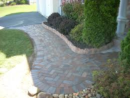 Front walkway idea- to get from driveway to front door