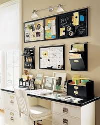 Decorating ideas for home office Simple Organized Home Office Pinterest Home Office Design And Decorating Ideas Home Office Setups
