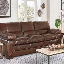 simon li richland leather sofa 1900171 the liquidation team