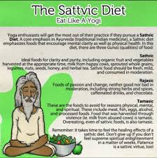 Sattvic Diet Yogic Diet Yoga Diet Ayurveda Yoga