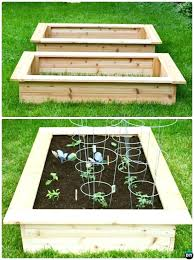 how to build a raised garden building bed box ideas diy beds out of pallets