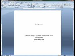 How To Create An Apa Title Page Title Page Apa
