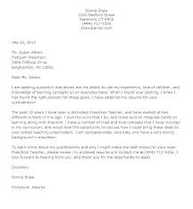 Cover Letter Teacher Assistant Cover Letter Teacher Templates Go To