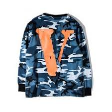 Autumn <b>Off White Vlone</b> Hoodie Sweatshirts Men Women Hip Hop ...