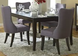 medium size of dining room wood dining table with upholstered chairs low back fabric dining chairs