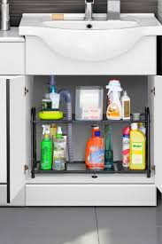 Under Kitchen Sink Storage 20 Best Bathroom Organization Ideas How To Organize Your Bathroom