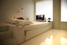 simple bedroom furniture ideas.  Ideas Simple Sleek And Modern Small Bedroom Design With Builtin Drawer To Furniture Ideas