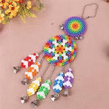 Dream Catcher Kits For Kids Stunning DIY Dream Catcher Windbell Kit Perler 32mm Fuse Beads Kid Craft Toy