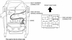 mazda 3 service manual front seat back component vehicles cut the band securing the wiring harness