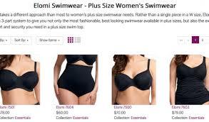 Elomi Plus Size Swimwear For Full Figured Women