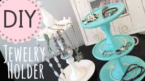 Diy Necklace Holder Diy Jewelry Holder By Michele Baratta Youtube