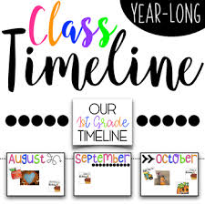 Year Long Class Timeline